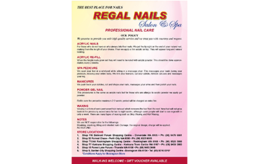 Regal Nails A5