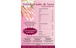 Today nail price list