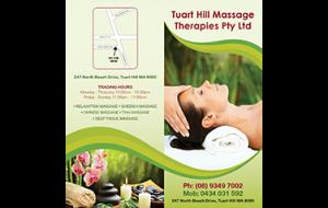 Tuart hill massage price list