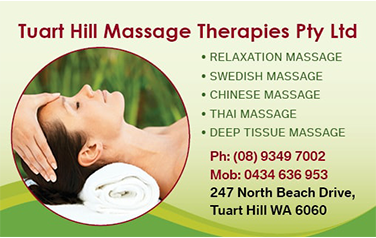 Tuart Hill Massage BC