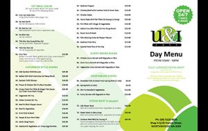 U&I day menu