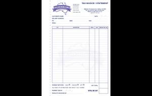 VIP distributors tax invoice