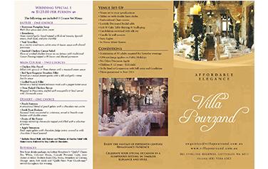 Villa Pourzand Brochure