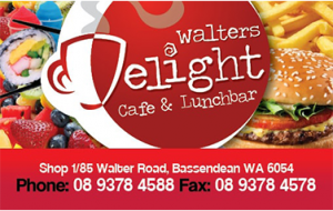 Walters delight business cards