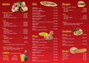 Wyatt Kebab Back Price List