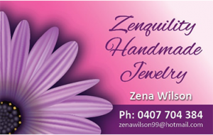 Zenquility business cards