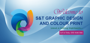 graphic design and colour print