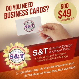 business cards perth
