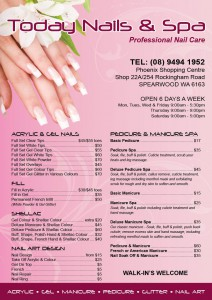 Today Nail A5 Pricelist-min