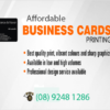 Why Business Cards are Still in Trend